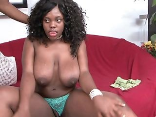 Dark-hued Nymph Selita Bly Wants To Rail A Dick While Her Tits Bounce