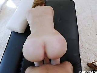 Ginger-haired Matures Cougar Miley Is Suggested A Fuck While Waiting