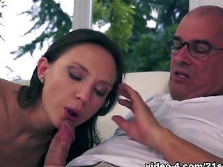 Amazing Pornographic Star Nataly Von In Horny Dark Haired, Cuni Xxx Clip
