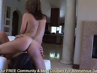 Skinny Brown-haired Cassandra Nix And Sheena Shaw Wank In Sauna