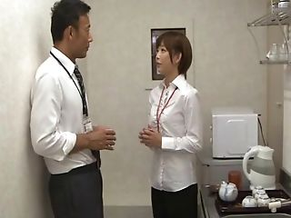 Ravishing Japanese Assistant Mana Sakura Fucked By Her Chief
