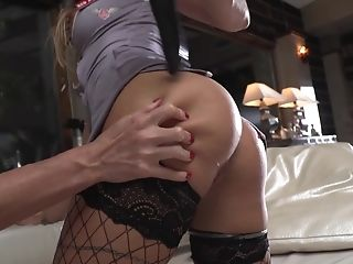 Hard-core Butt Fucking With A Large Dick For Sexy Joanna Bujoli