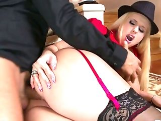 Hot Chick Angel Wicky Has Got Bosoms For Days And Her Fuckfest Game Is On Point