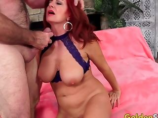 Matures Andi James Is Passionately Plowed