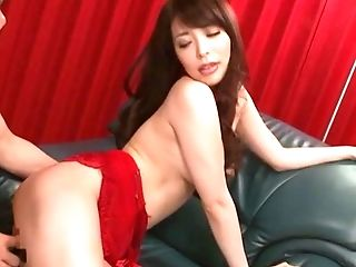 Hot Sakurai Ayu Gets Her Moist Cunt Pleased With Big Fucky-fucky Playthings