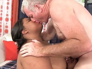 Bbw Dark-hued Peaches Loves To Fuck With Her Older Friend After Cooter Eating