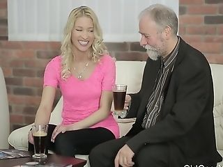 Old Goes Youthful - Sweetie Opens Cunt