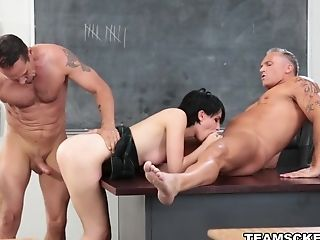 Horny Pornographic Star Allora Ashlyn In Crazy Dark-haired, Big Culo Pornography Flick