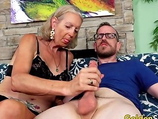 Granny Supah Sexy Has Her Asshole Reamed