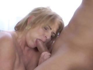 Granny Gets A Good Fucking And A Hot Facial Cumshot Cum Shot