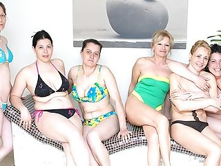 Lovely Matures Women Relieving In A Sauna