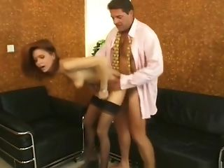 Horny Sex Industry Star In Greatest Ginger-haired, Facial Cumshot Adult Scene